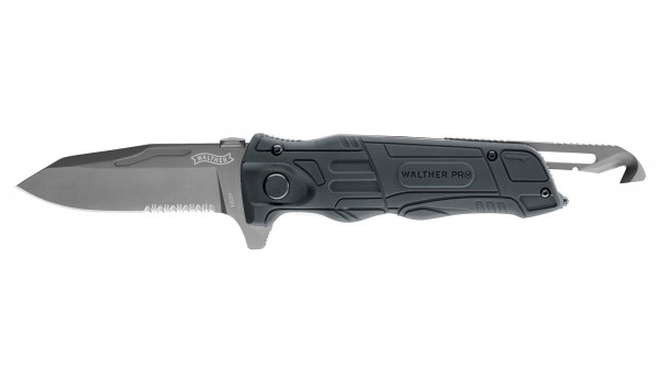 Pro Rescue Knife Black