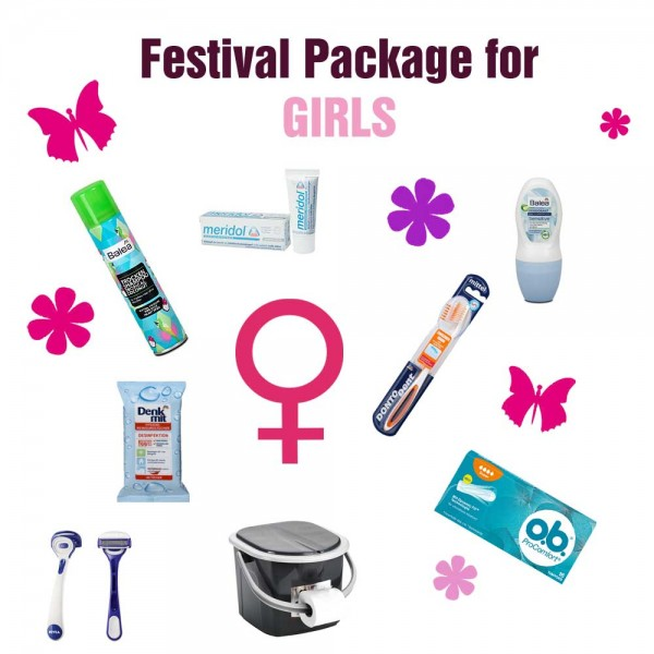 Festivalpaket for GIRLS