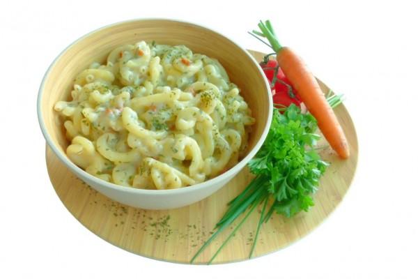 NUDELN in KRÄUTERCREME - vegetarisch