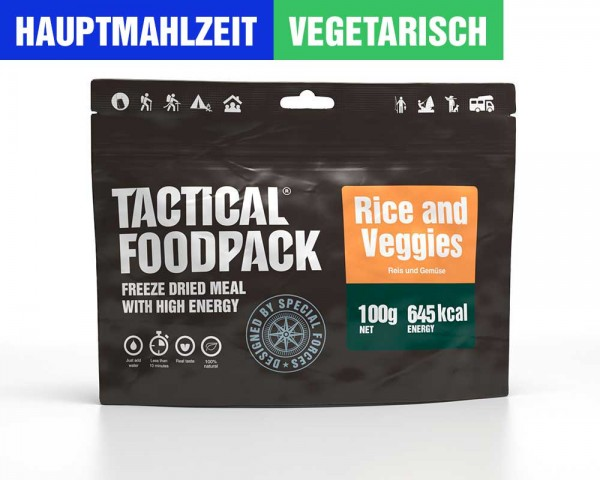 Reis mit Gemüse | Rice and Veggies