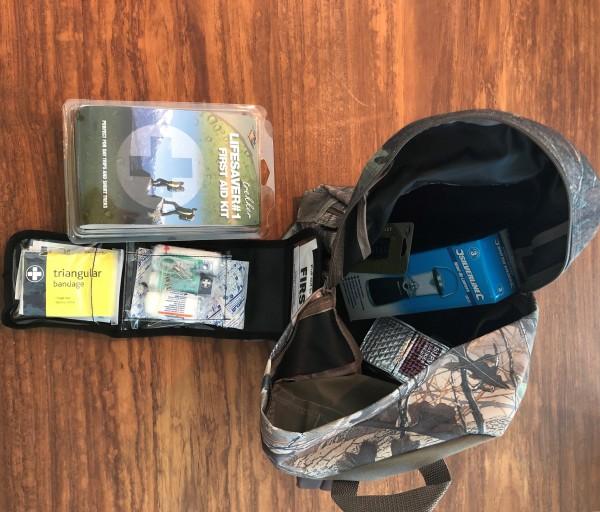 "Wanderrucksack ""Kompakt"" komplett ausgestattet"