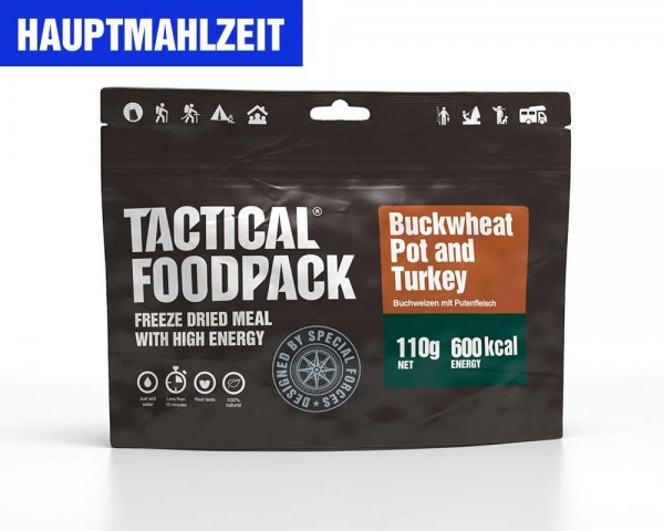 Buchweizen mit Pute | Buckwheat Pot and Turkey