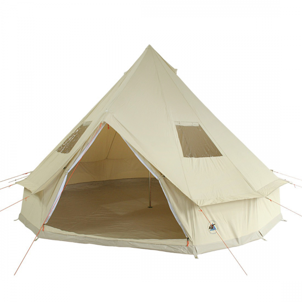 Camping Baumwollzelt DESERT 4 - 8 Personen