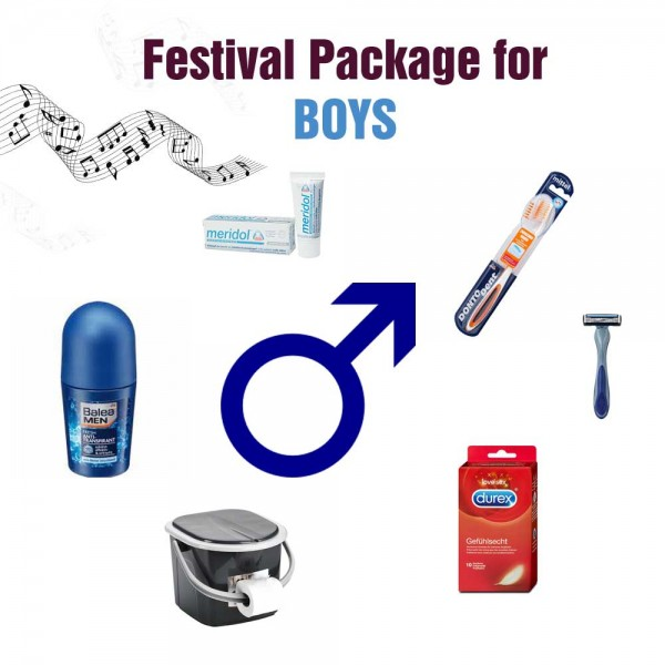 Festivalpaket for BOYS