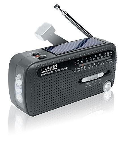 Weltempfänger Radio (Dynamo, Handylader, Solar)