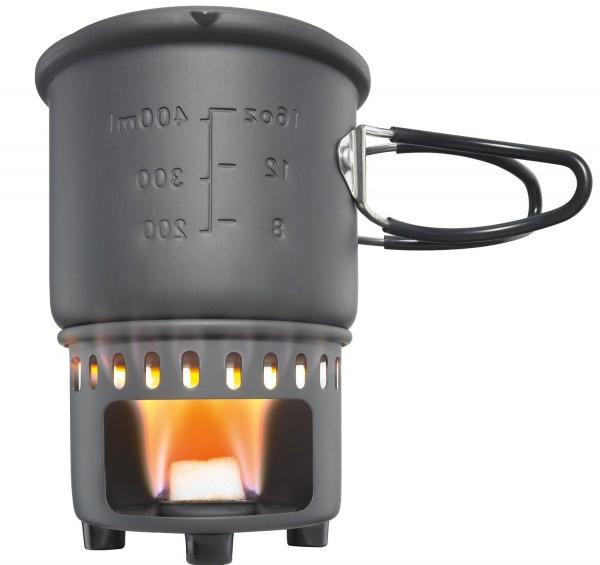 Trockenbrennstoff Kochset